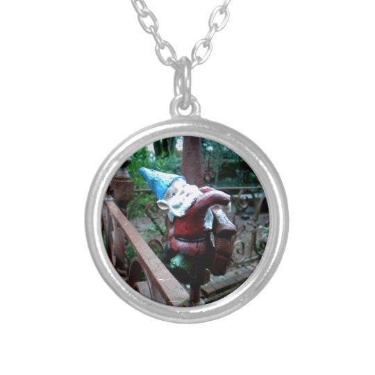Escaping the Garden Silver Plated Necklace