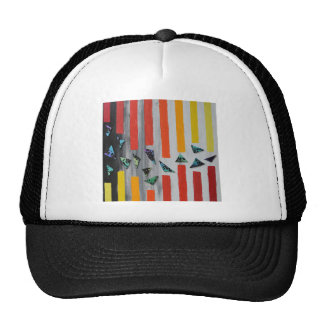 Escaping through Barriers Trucker Hat