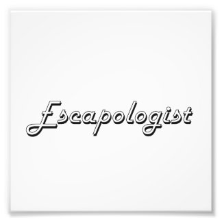 Escapologist Classic Job Design Photo Print