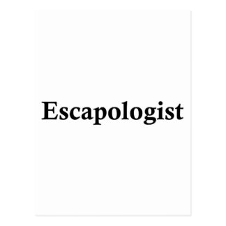 Escapologist Postcard