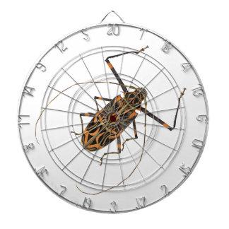 Escarabajo Acrocinus Longimanus del Harlequin Tablero Dardos