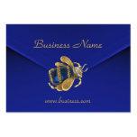 Escarabajo azul rico del terciopelo del negocio de plantillas de tarjetas de visita