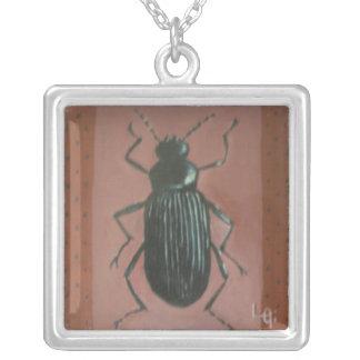 Escarabajo Darkling Colgante Cuadrado