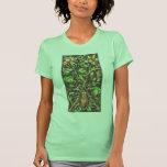 Escarabajo de cuernos en Brown Camisetas