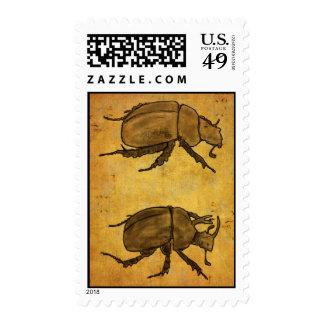escarabajo de estiércol sellos