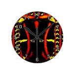 Escarabajo de Glycyphana Reloj De Pared
