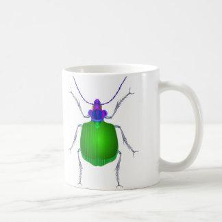 Escarabajo de tierra taza de café