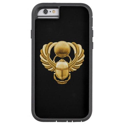 Escarabajo del egipcio del oro funda para  iPhone 6 tough xtreme