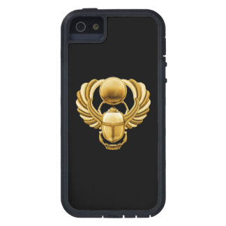 Escarabajo del egipcio del oro iPhone 5 carcasas