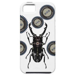 Escarabajo del mecanismo con los engranajes - funda para iPhone SE/5/5s
