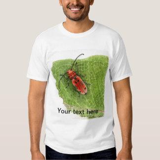 Escarabajo del perforador del Milkweed Remera