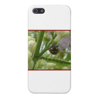 Escarabajo divertido Lustiger Käfer de iPhone 5 Funda