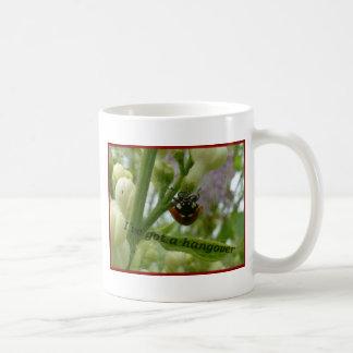 Escarabajo divertido Lustiger Käfer de Taza De Café