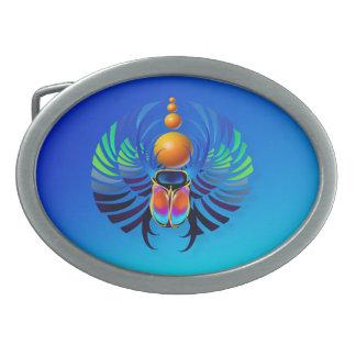 Escarabajo- divino hebilla de cinturón
