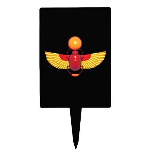 Escarabajo egipcio figuras para tartas