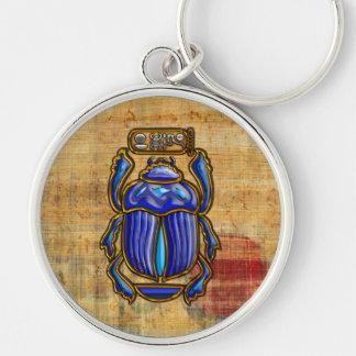 Escarabajo egipcio antiguo llavero personalizado