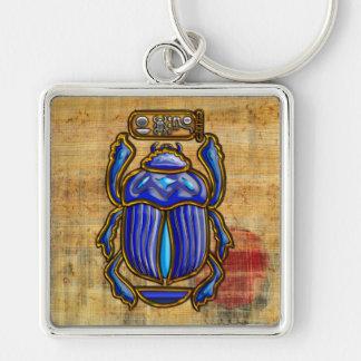 Escarabajo egipcio antiguo llaveros