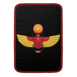 Escarabajo egipcio funda macbook air
