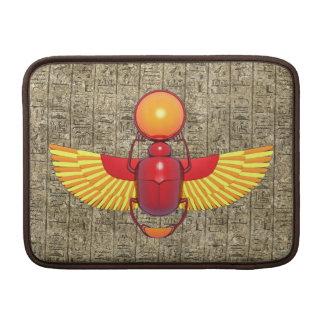 Escarabajo egipcio fundas MacBook