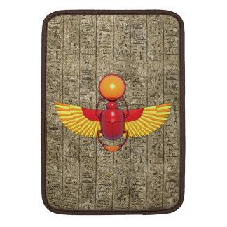 Escarabajo egipcio funda  MacBook
