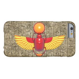 Escarabajo egipcio funda de iPhone 6 barely there