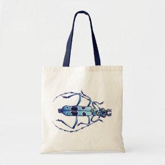 Escarabajo estupendo bolsa tela barata