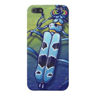 Escarabajo estupendo iPhone 5 protectores