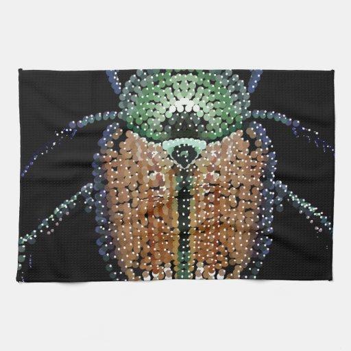 Escarabajo japonés toalla