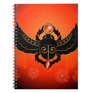 Escarabajo Libro De Apuntes Con Espiral