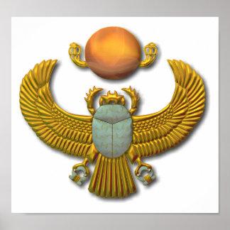 Escarabajo-oro Póster