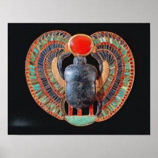 Escarabajo pectoral, de la tumba de Tutankhamun Impresiones