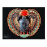 Escarabajo pectoral, de la tumba de Tutankhamun Tarjetas Postales