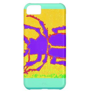 Escarabajo púrpura de Staghorn por Sharles Funda Para iPhone 5C