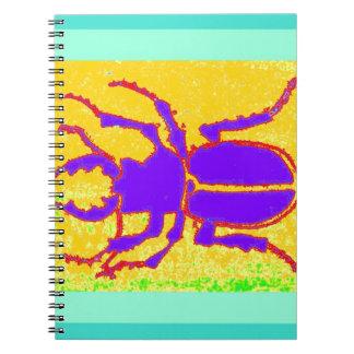 Escarabajo púrpura de Staghorn por Sharles Libretas