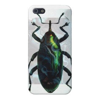 Escarabajo verde iPhone 5 funda
