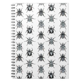 Escarabajos de Goliat Cuadernos