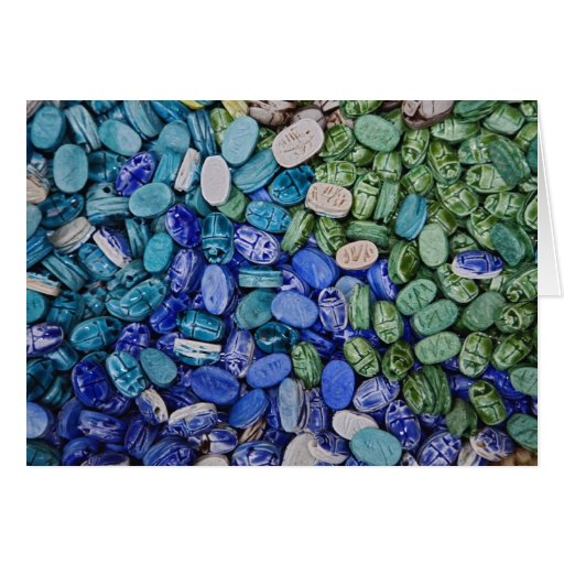 Escarabajos del escarabajo del alabastro, EL Khali Tarjeta