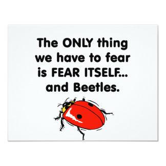 Escarabajos del miedo sí mismo comunicado personal