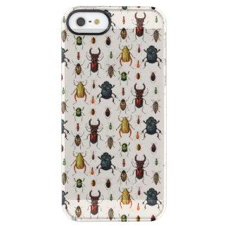 Escarabajos del vintage funda clearly™ deflector para iPhone 5 de uncommon