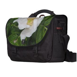 Escaramujo blanco bolsas para ordenador