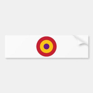 Escarapela de la República Española Bumper Sticker