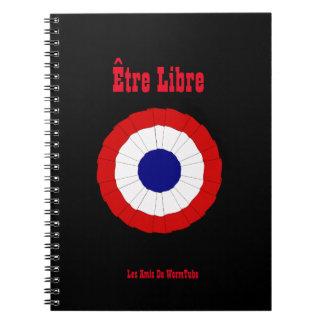 Escarapela del cuaderno espiral de Être Libre
