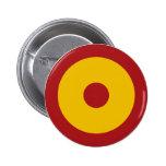 Escarapela española, Spanish roundel Pin Redondo 5 Cm