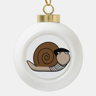 Escargot - caracol francés adornos