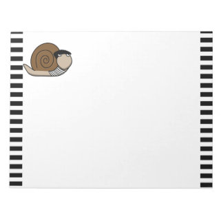 Escargot - caracol francés blocs de papel