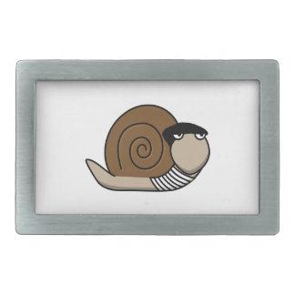 Escargot - caracol francés hebillas cinturón rectangulares