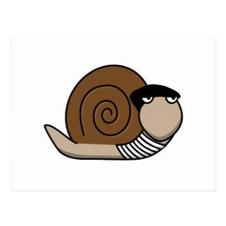 Escargot - caracol francés tarjetas postales
