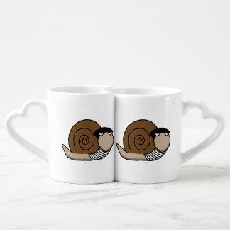 Escargot - caracol francés taza amorosa