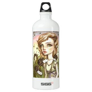 Escargot Express Aluminum Water Bottle