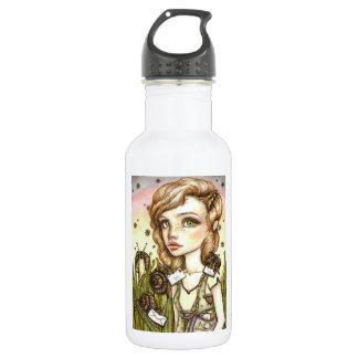 Escargot Express Stainless Steel Water Bottle